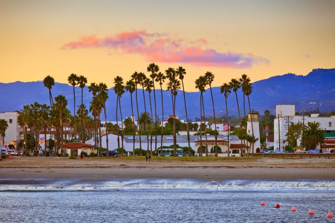 Santa Barbara Californie états unis