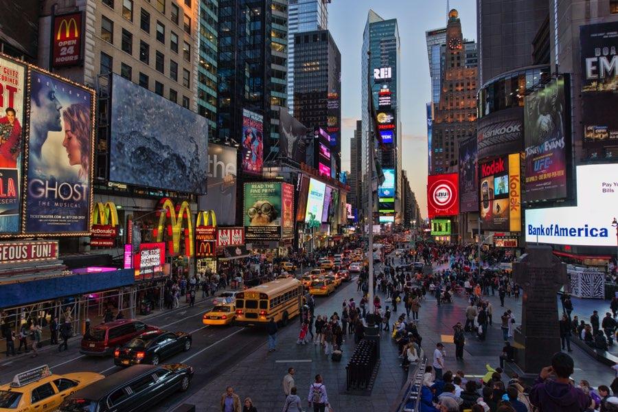 voyage état unis new york
