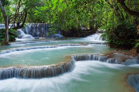 voyage Laos chute d'eau