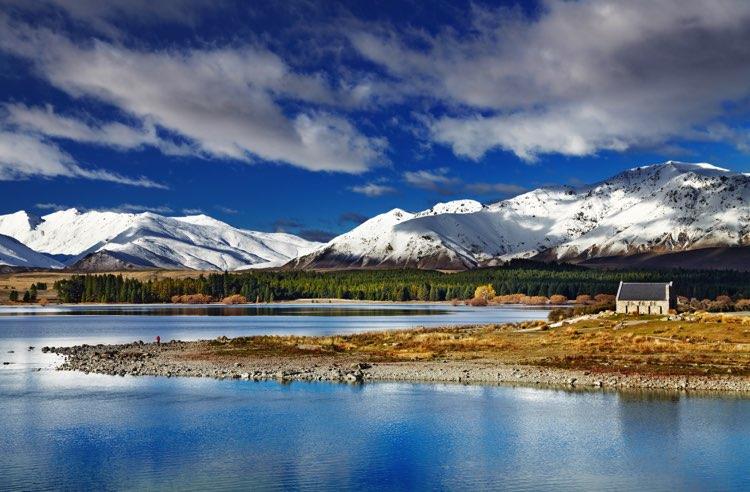 voyage nouvelle zélande lac tekapo
