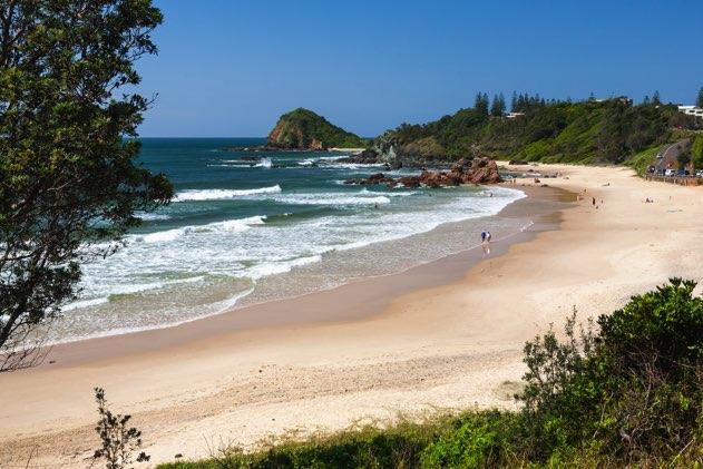 voyage australie plage port macquarie