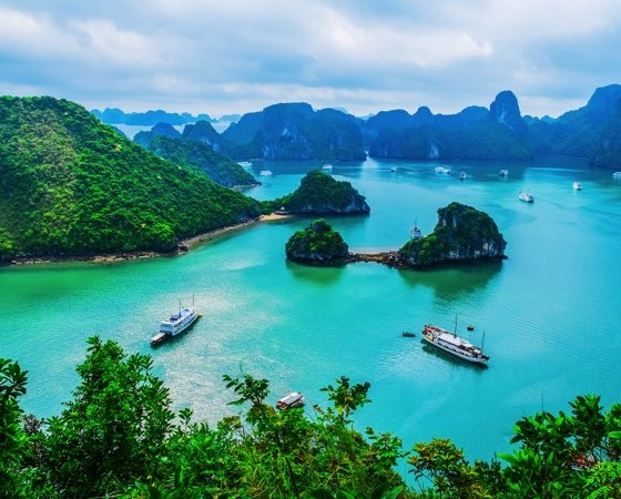 voyage vietnam baie d'halong