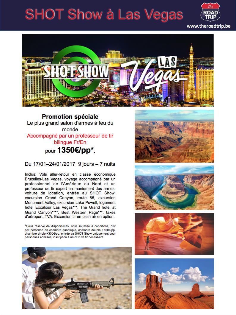 Présentation Shot Show 2017 Las Vegas USA