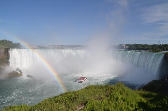 Chutes du Niagara road trip USA