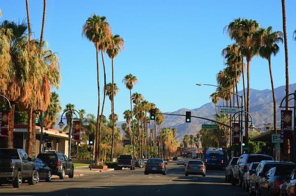 Voyage Palm Springs Californie USA