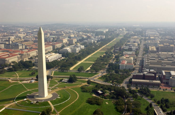 Voyage aux États Unis par Washington DC