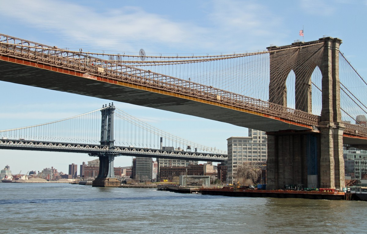 Pont de Brooklyn New York voyage city trip