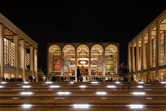Lincoln center voyage etats unis road trip usa